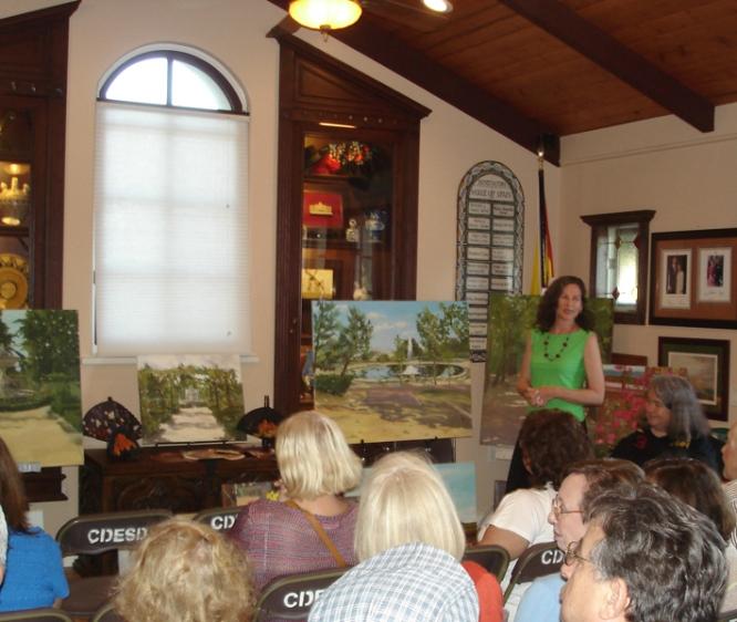 Casa de España 2011 Painting Exhibition