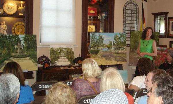 Painting Exhibition in Casa de España - San Diego, California 2011