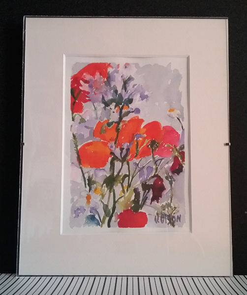 Poppies and Wild Flowers May 15th 2015