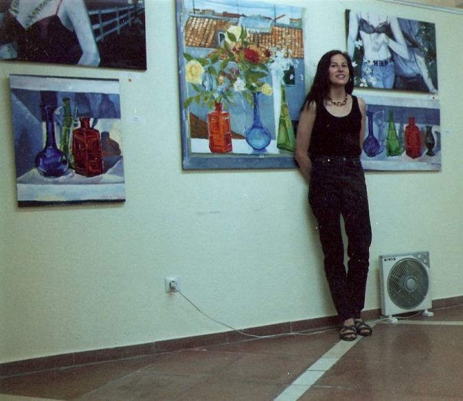 My first exhibition when I returned to Madrid, Spain.