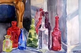 Bottles in a Corner 2014