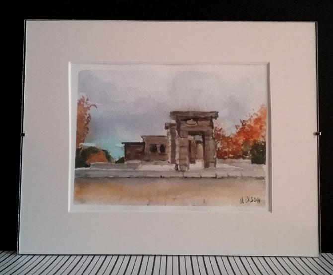 El Templo de Debod 2014