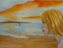 Circe Beckoning Ulysses 2009 Oil on Canvas 46×61 cm / 18 x24 in $243