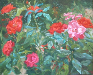 Roses West Light September 2006