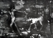Canto I (97) She Wolf  1991- Lithograph Print