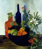 Passion Fruit Vine with Bowl of Fruit and Bottles 1998