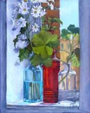 Bottles on Window Sill 2006
