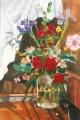 Bouquet of Flowers in a Pickle Jar 2003
