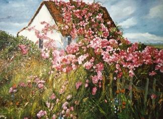 Spanish Cottage in Miraflores de la Sierra , Spain 1990