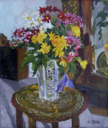 Crystal Vase with Flowers 2006