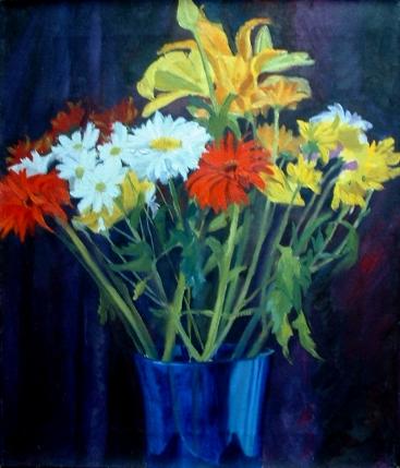 Blue Vase 2003