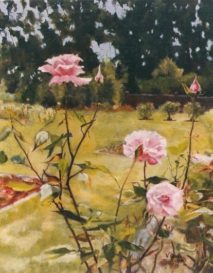 Rose Garden in Golden Gate Park San Francisco, California 1996