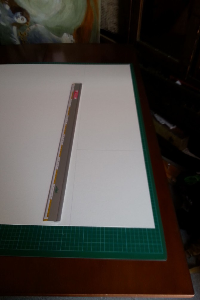 Slip proof ruler for cutting