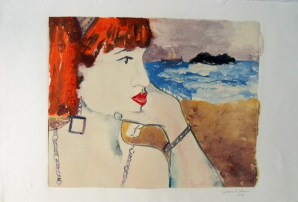 Calypso Gazing at the Horizon 1990