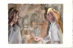 Beatriz Summons Virgil in Limbo Canto II 2011