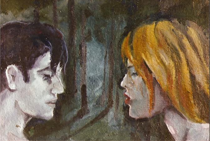 Beatriz and Dante