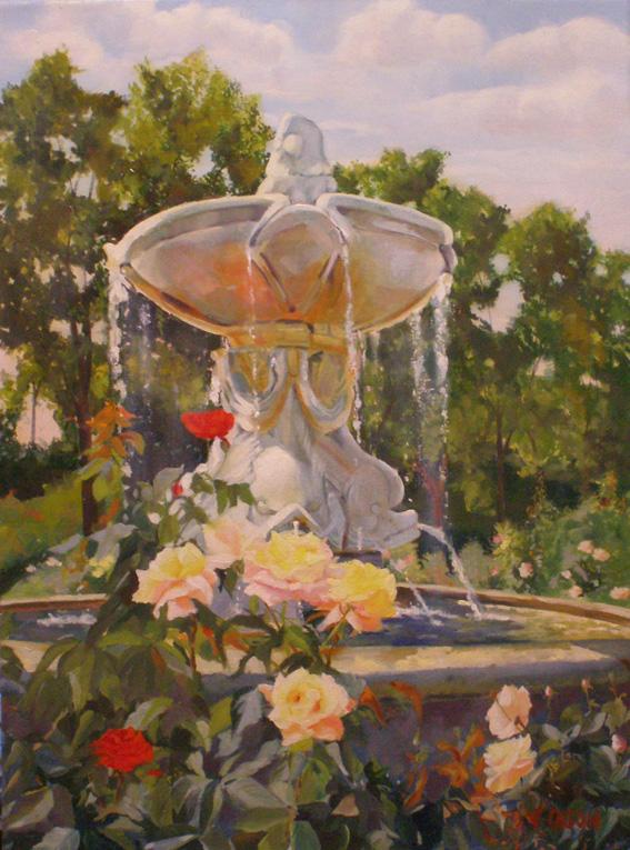 Rose Garden May Madrid