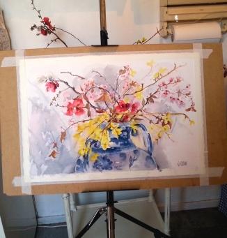 Spanish Spring Blossoms on Easil 2016