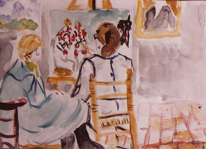 Grandma's Studio 1983