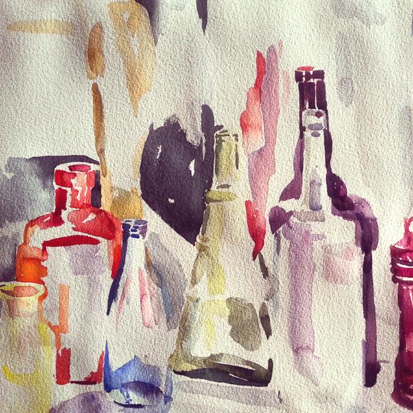 Watercolor in Process 2015