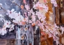 Blossoms in Crystal Vase 2012