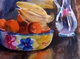 Fruit Bowl with Blue Vase 2005