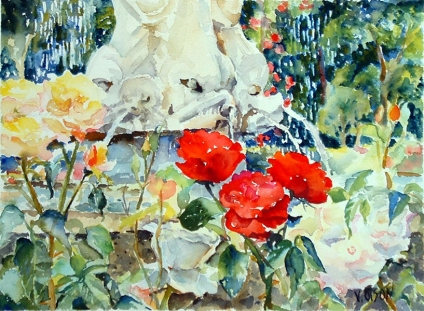 Rose Garden June 2009