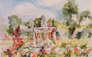 Fuente del Faunito at the Rose Garden Madrid, Spain 2010