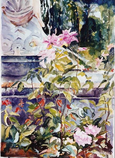 Fuente del Faunito, Rose Garden 2006