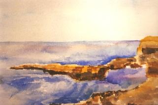 San Diego Beach Shoreline 1986