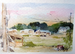 Sunrise on the Farm 2012