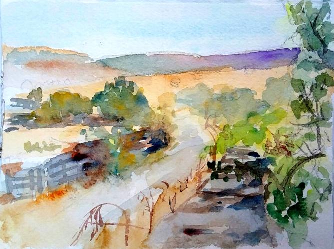 Camino al Pradera August 2016