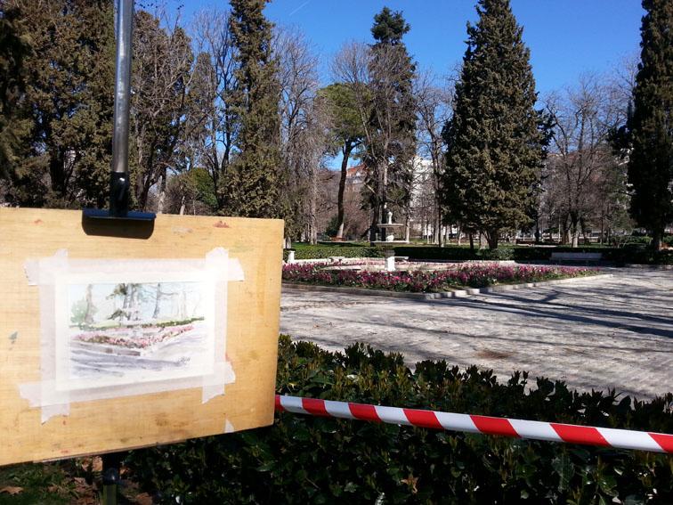 fuente-de-la-plaza-de-marmol-open-air-painting