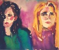 Silvia and Maria Jesus 1992