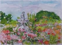 Fuente del Faunito Rose Garden 2015