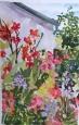 My Mom's Side Yard Flower Garden 2011