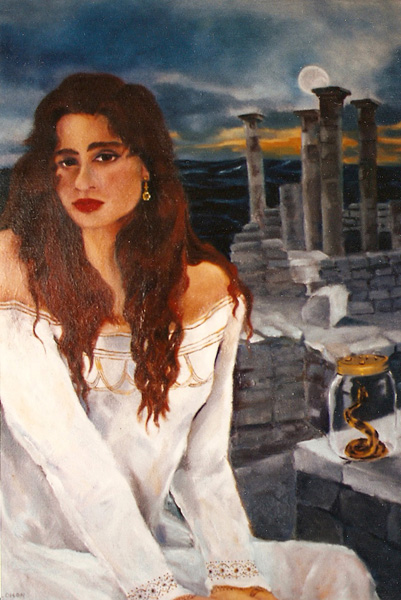 Silvia 1993 - Oil on Canvas - Acquired