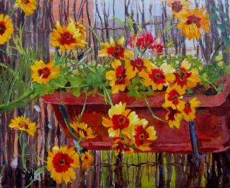 Sunny June Flowers 2017