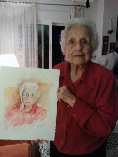 Grandmother in Spain