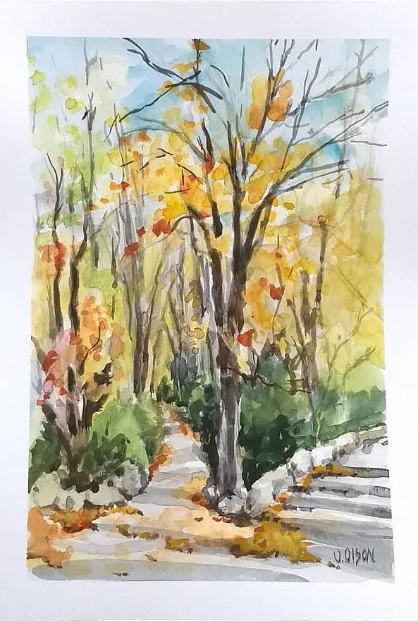Autumn in El Campo del Moro