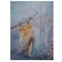 Bitter Sweet Revenge 2020 Oil on Museum Board 13x18cm / 5×7 in €50.00