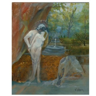The Rapture of Helen 2007 Oil on Canvas 55×46 cm / 21.5×18 in €195