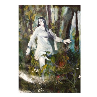 Thisbe 1996 Oil on Canvas 91×73 cm / 35.8×28.7″ €950