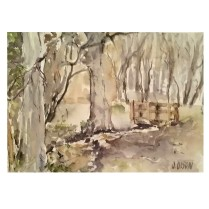 Bustarviejo Forest 2017 Watercolor on Arches 300 GMS 38×28 cm 15×11″ €65