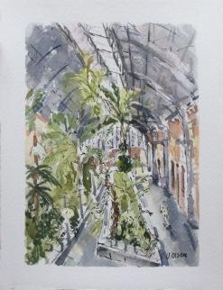 Tropical Garden of Atocha Station